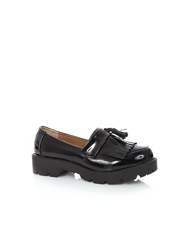 newlook-black-chunky-tassel-loafers-24-99
