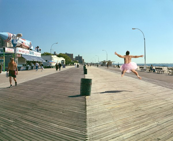 Boardwalk. Coney Island, New York. 2003