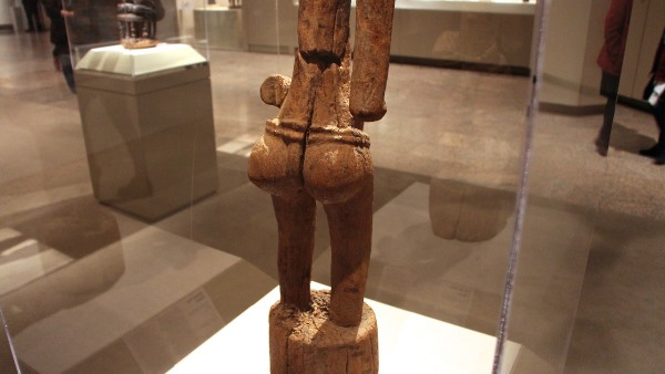 Senufo Poro Figure, Côte d'Ivoire, Korhogo region, village of Lataha, Senufo peoples, Tyebara group, 19th century, wood
