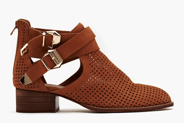 Everly Cutout Boot - Tan Perforated 205$ sur nasty Gal (2)