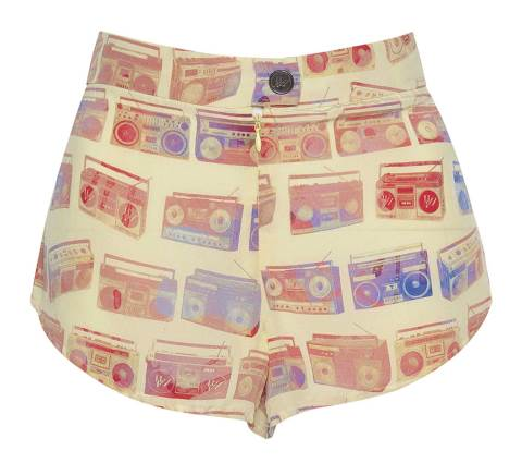 THE BOOM BOX SILK SHORTS 60€