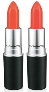 Rouge MAC Tart Trendy et neon Orange