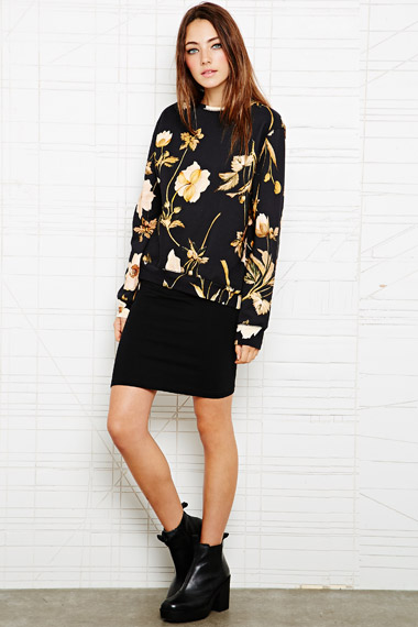 UO House of Hackney Jersey Sweater in Floral 185€