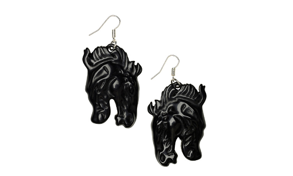 Horse earring Monki 8e