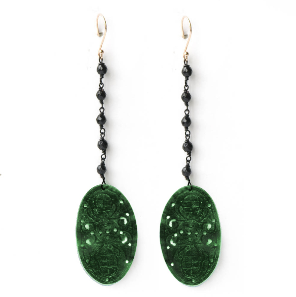Wanted - boucle_d_oreilles-fonsi-90€ (www lessisrare fr bijoux mode boucle_d_oreilles-fonsi-634-jade_vert html)