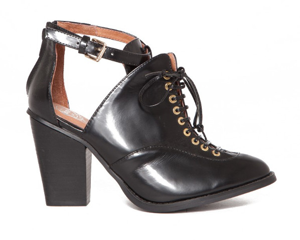 pixie market Amata Lace Up Booties 2