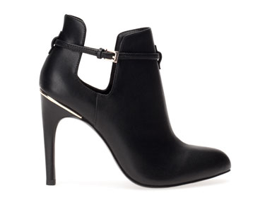 Bottines talon ouvertures latérales - LIMITED EDITION - NOUVELLE COLLECTION -Stradivarius 49.95e