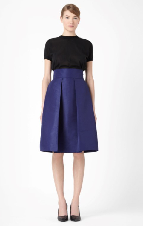 COS SKIRT WITH BOX PLEATS 69e