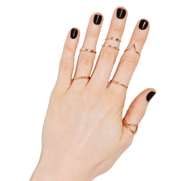 Nasty Gal - Super Beam Ring Set 15$