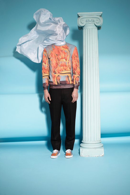 magritte opening ceremony homme 3