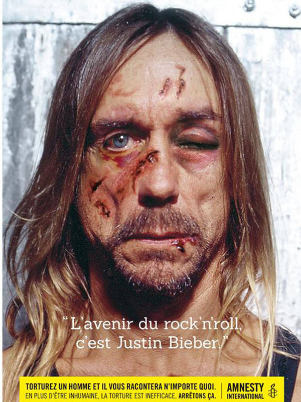 Amnesty campain - Iggy-Pop