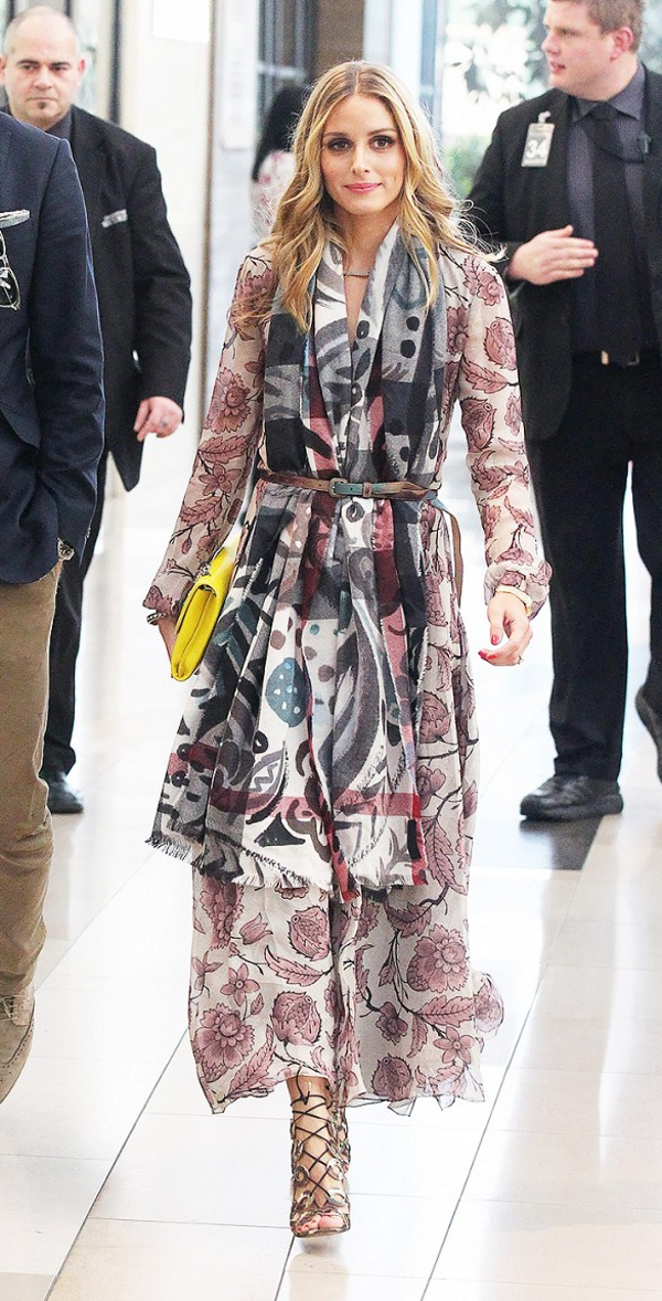 Olivia Palermo en Burberry PHOTO Splash News