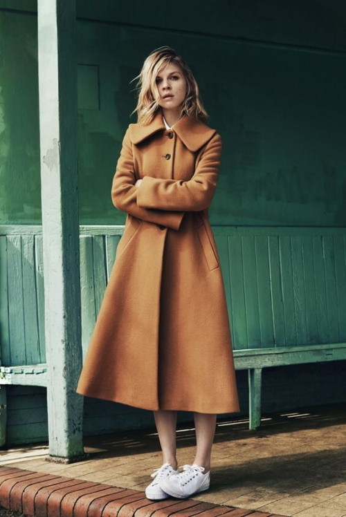 Pablo by Clemence Poesy manteau MUSE 425