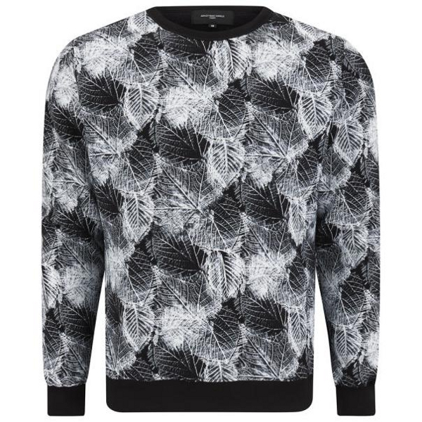 Ashley Marc Hovelle Men's leaf print Sweatshirt (81.60€)