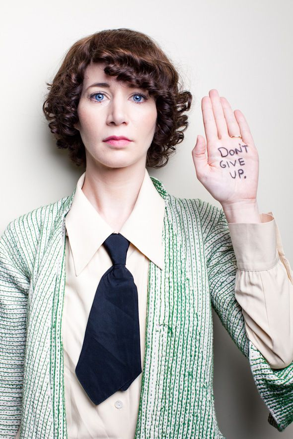 Miranda July - don't give up