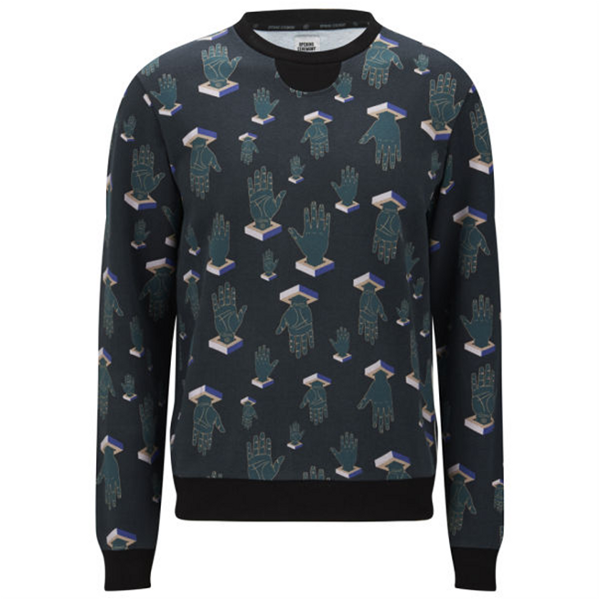 Opening Ceremony Men's scattered Hands crewneck