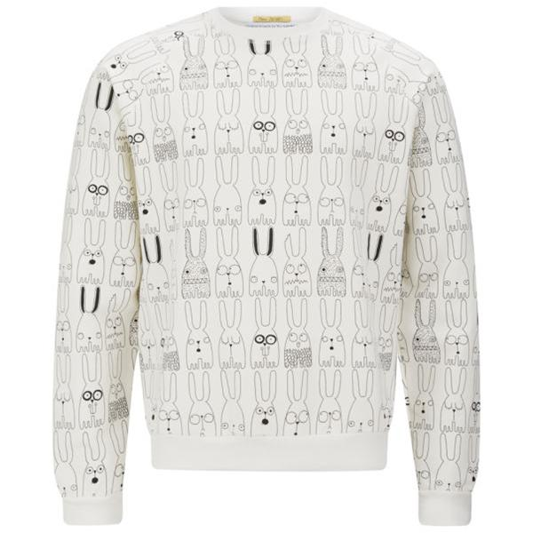 Peter Jensen Rabbit Repeat Sweatshirt (Coggles, €73.44)
