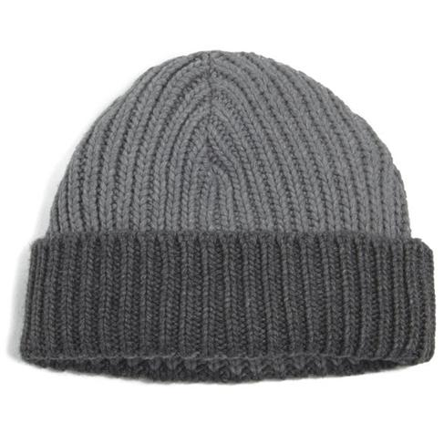 Oliver Spencer, Ribbed Contrast Beanie Hat