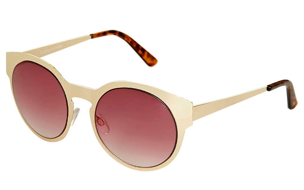 topshop METAL PREPPY ROUND SUNGLASSES 20e