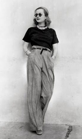Joan Bennett. 1930's Fashion