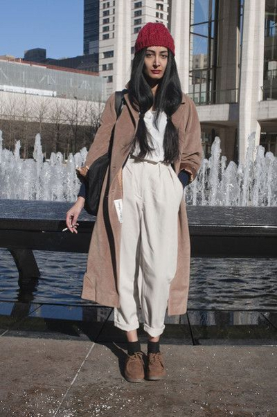 Street Fashion at New York Fall 2012 vu sur livingly